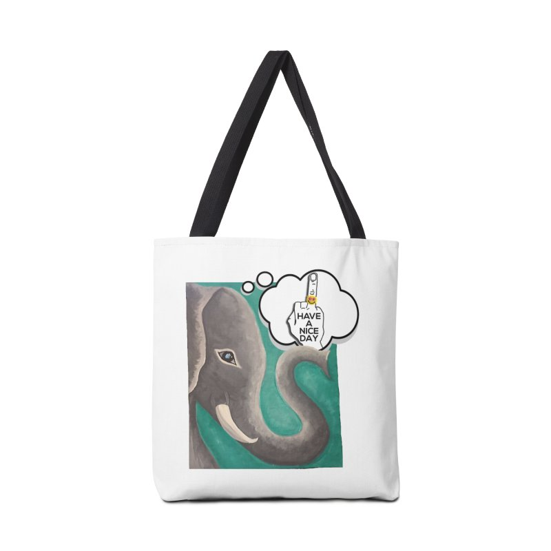 Ele supports the HAND GESTURE FOR eARTh Accessories Tote Bag Bag by H.A.N.D. GESTURE FOR eARTh! • View COLLECTIONS Too
