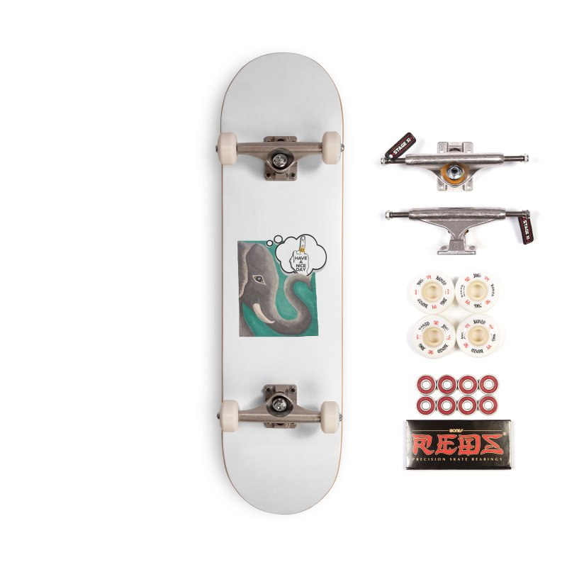 Ele supports the HAND GESTURE FOR eARTh Accessories Complete - Pro Skateboard by H.A.N.D. GESTURE FOR eARTh! • View COLLECTIONS Too