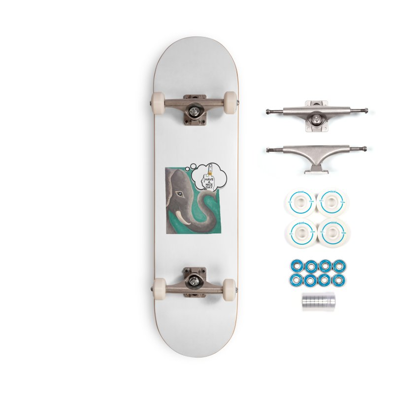 Ele supports the HAND GESTURE FOR eARTh Accessories Complete - Basic Skateboard by H.A.N.D. GESTURE FOR eARTh! • View COLLECTIONS Too