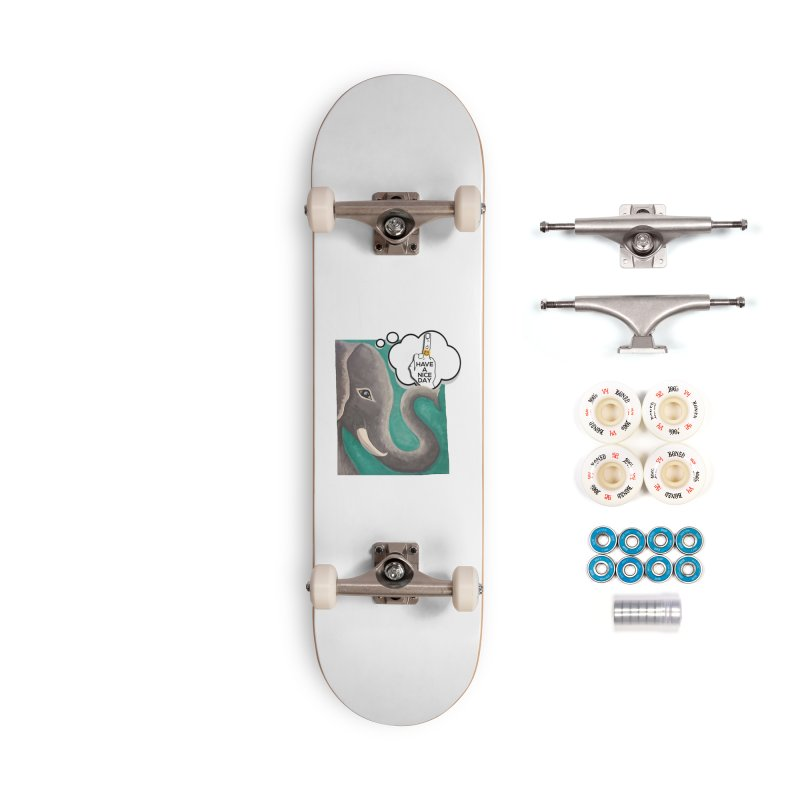 Ele supports the HAND GESTURE FOR eARTh Accessories Complete - Premium Skateboard by H.A.N.D. GESTURE FOR eARTh! • View COLLECTIONS Too