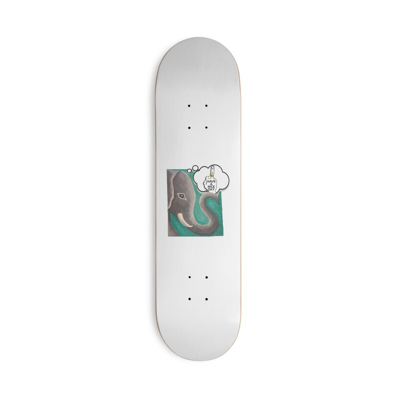 Ele supports the HAND GESTURE FOR eARTh Accessories Skateboard by the FRINGER! • H.A.N.D. GESTURE FOR eARTh!