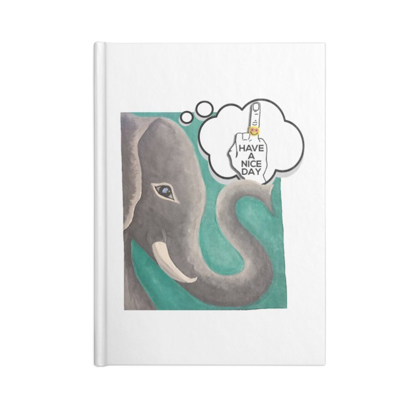 Ele supports the HAND GESTURE FOR eARTh Accessories Blank Journal Notebook by H.A.N.D. GESTURE FOR eARTh! • View COLLECTIONS Too