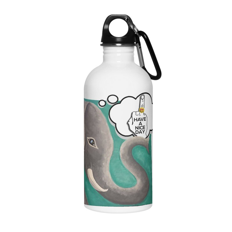 Ele supports the HAND GESTURE FOR eARTh Accessories Water Bottle by H.A.N.D. GESTURE FOR eARTh! • View COLLECTIONS Too