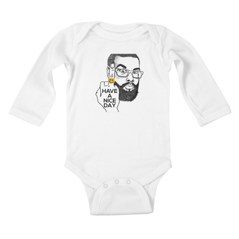 Mr. H supports the HAND GESTURE FOR eARTh Kids Baby Longsleeve Bodysuit by H.A.N.D. GESTURE FOR eARTh! • View COLLECTIONS Too