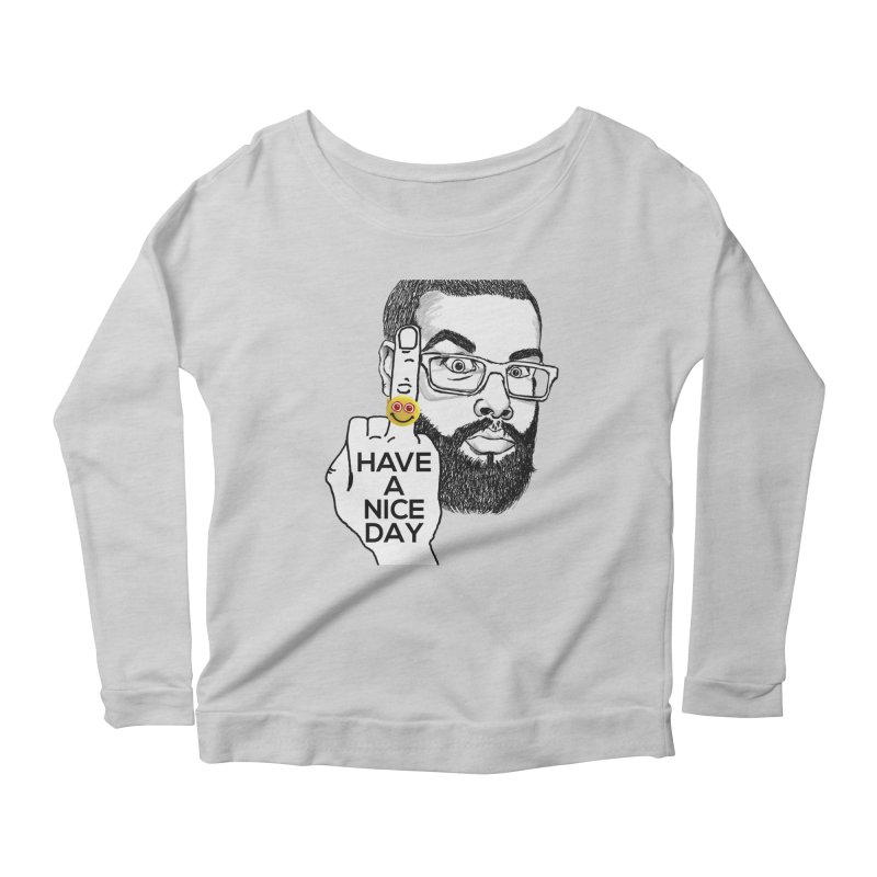 Mr. H supports the HAND GESTURE FOR eARTh Women's Scoop Neck Longsleeve T-Shirt by H.A.N.D. GESTURE FOR eARTh! • View COLLECTIONS Too
