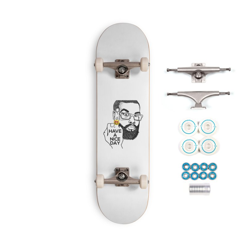 Mr. H supports the HAND GESTURE FOR eARTh Accessories Complete - Basic Skateboard by H.A.N.D. GESTURE FOR eARTh! • View COLLECTIONS Too