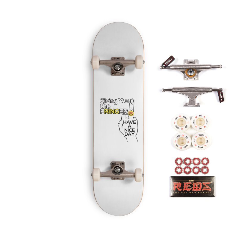 the FRINGER is the HAND GESTURE FOR eARTh Accessories Complete - Pro Skateboard by H.A.N.D. GESTURE FOR eARTh! • View COLLECTIONS Too