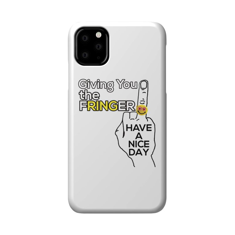 the FRINGER is the HAND GESTURE FOR eARTh Accessories Phone Case by H.A.N.D. GESTURE FOR eARTh! • View COLLECTIONS Too