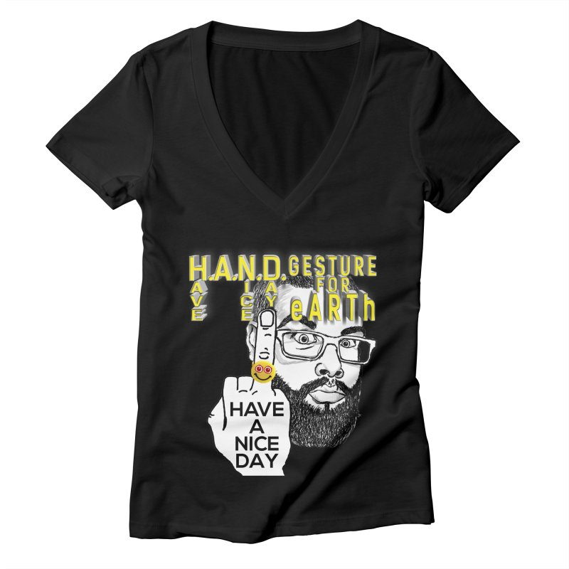 Women's None by the FRINGER! • H.A.N.D. GESTURE FOR eARTh!