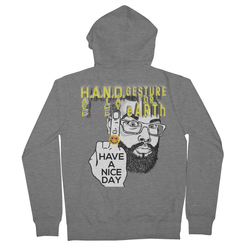 H.A.N.D. Poster supports the HAND GESTURE FOR eARTh Women's French Terry Zip-Up Hoody by H.A.N.D. GESTURE FOR eARTh! • View COLLECTIONS Too