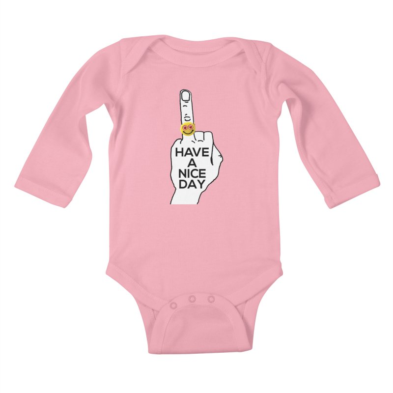 HAND GESTURE FOR eARTh Kids Baby Longsleeve Bodysuit by H.A.N.D. GESTURE FOR eARTh! • View COLLECTIONS Too
