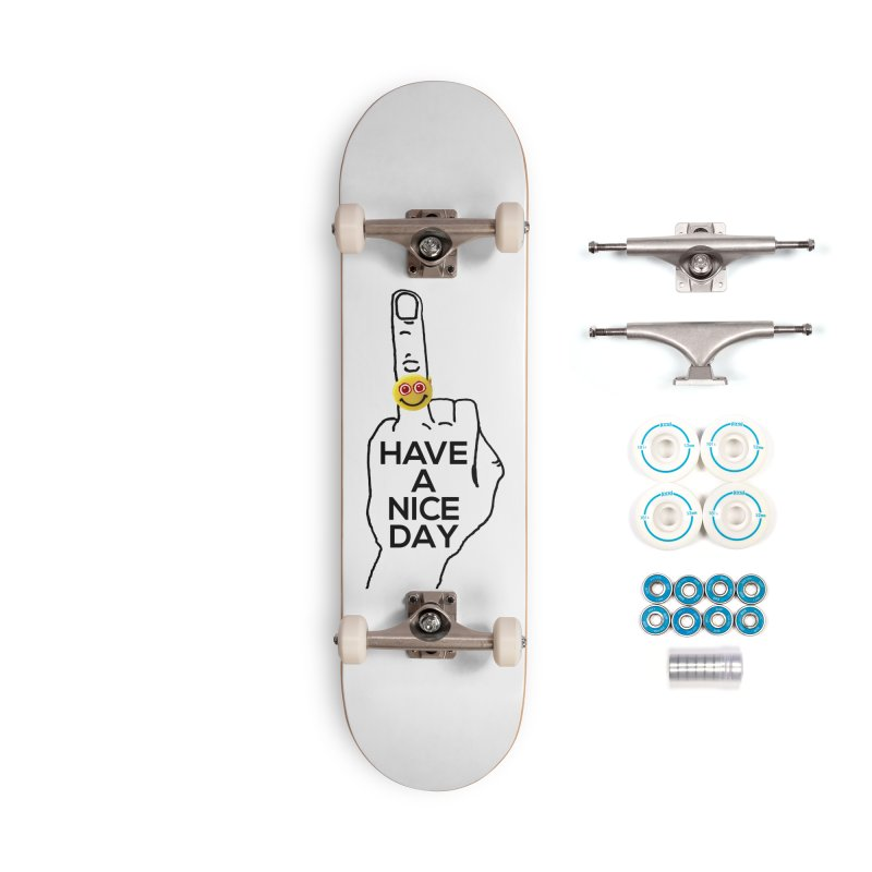 HAND GESTURE FOR eARTh Accessories Complete - Basic Skateboard by H.A.N.D. GESTURE FOR eARTh! • View COLLECTIONS Too