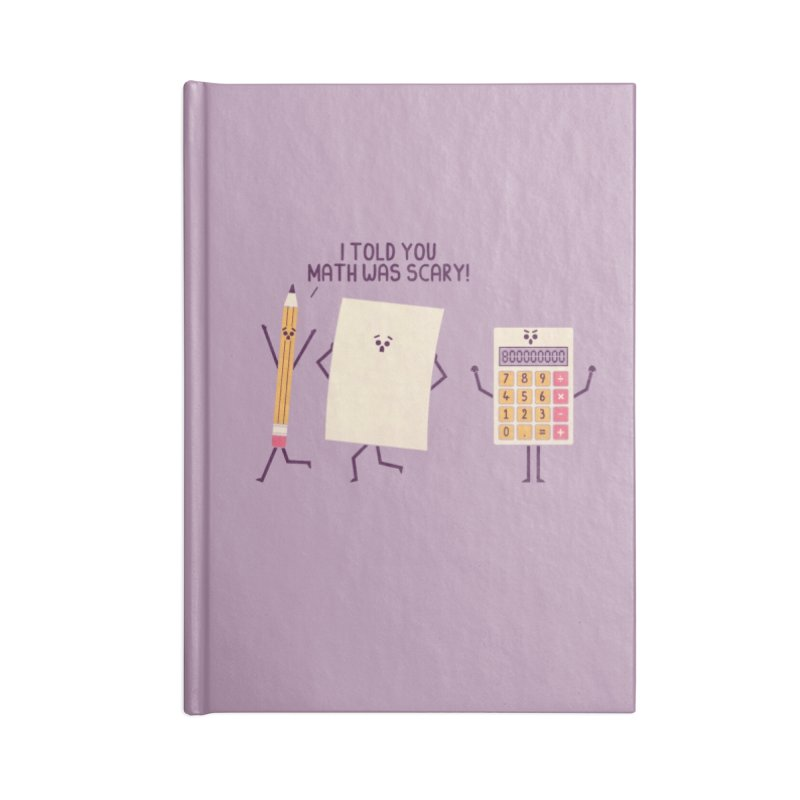 Scary Accessories Notebook by handsoffmydinosaur