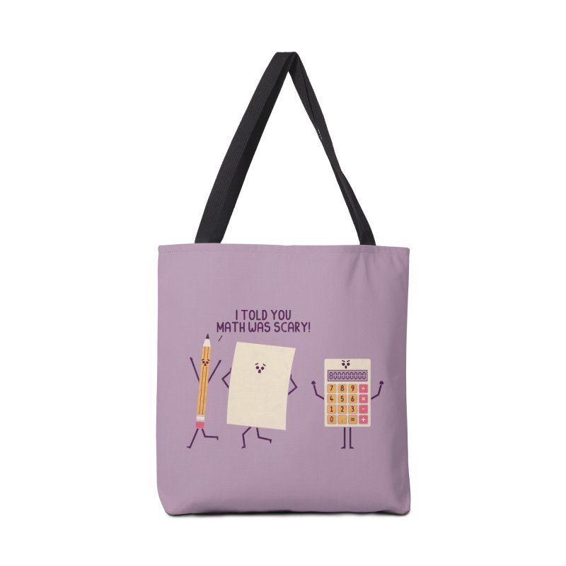 Scary Accessories Bag by handsoffmydinosaur
