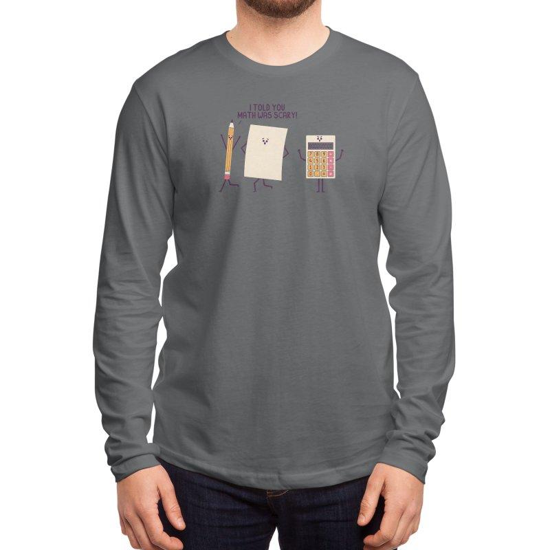 Scary Men's Longsleeve T-Shirt by handsoffmydinosaur