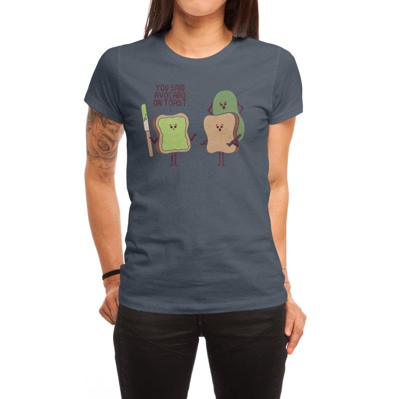 Tragic Misunderstanding Women's T-Shirt by handsoffmydinosaur