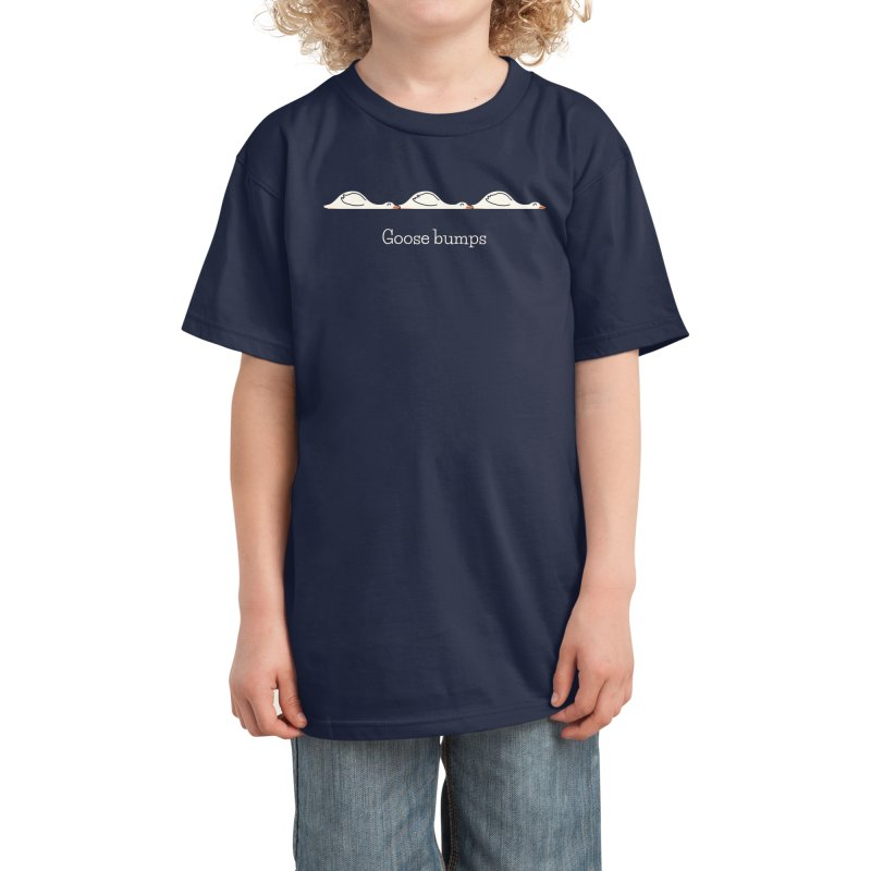 Goose Bumps Kids T-Shirt by