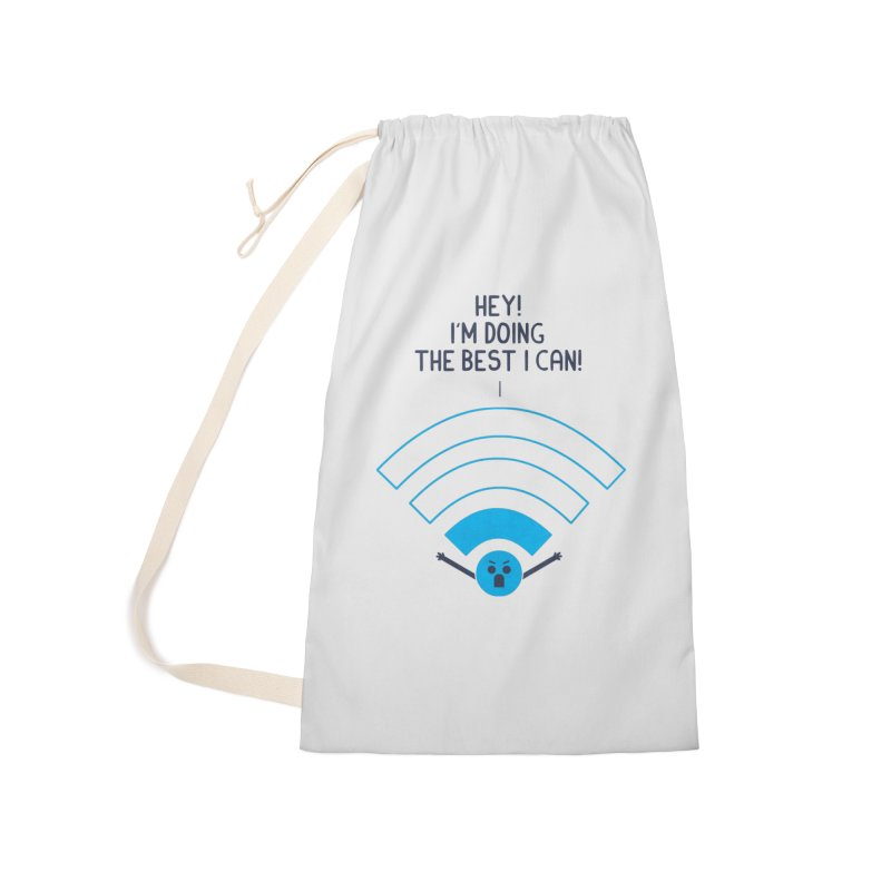 Angry WiFi Accessories Bag by
