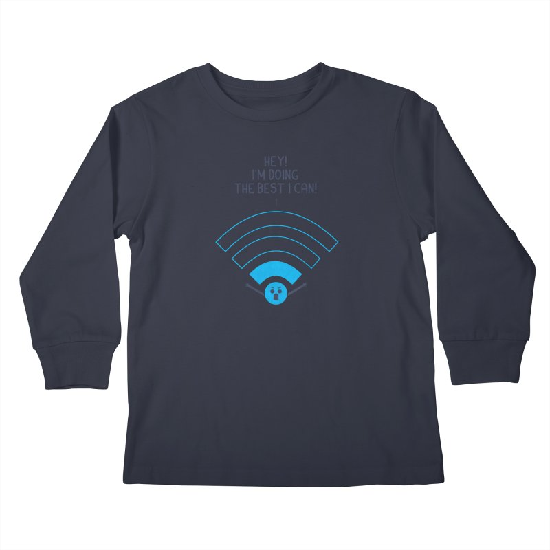 Angry WiFi Kids Longsleeve T-Shirt by