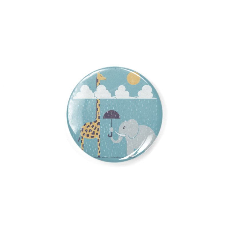 Always Sunny Up Here Accessories Button by
