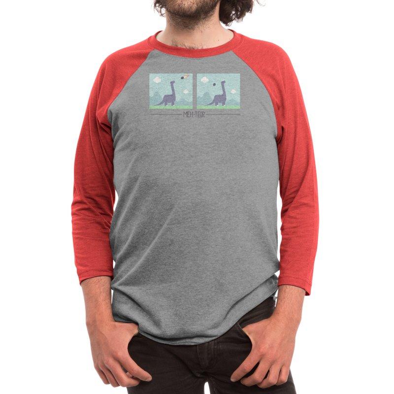 Meh-Teor Men's Longsleeve T-Shirt by handsoffmydinosaur