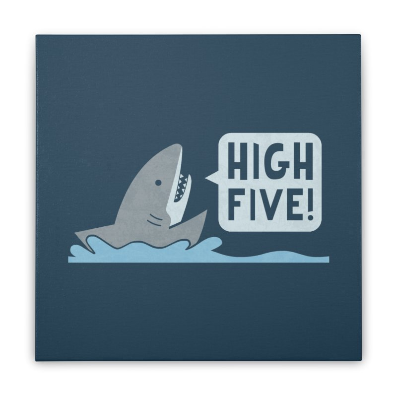 High Five Home Stretched Canvas by