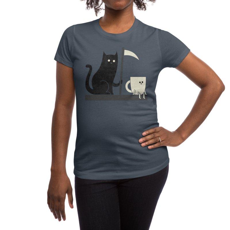 Impending Doom Women's T-Shirt by handsoffmydinosaur