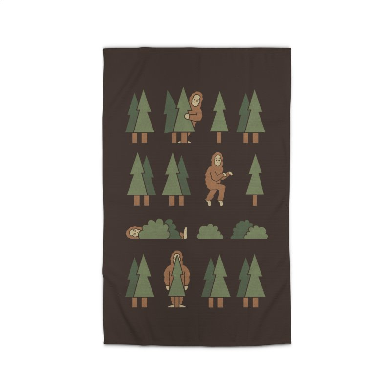 Bigfoot Forest Home Rug by