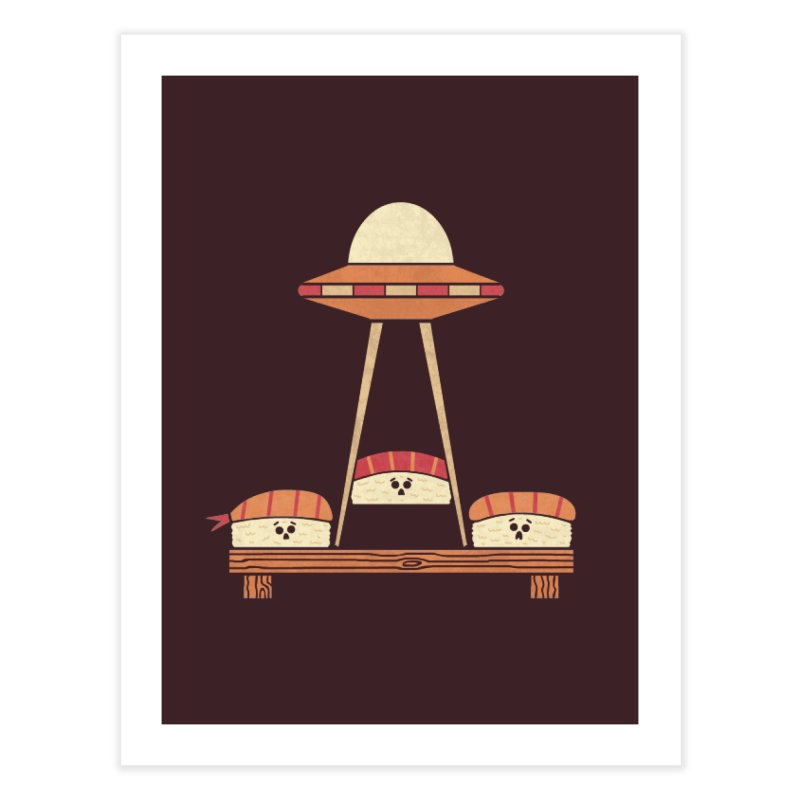 The Abduction Home Fine Art Print by