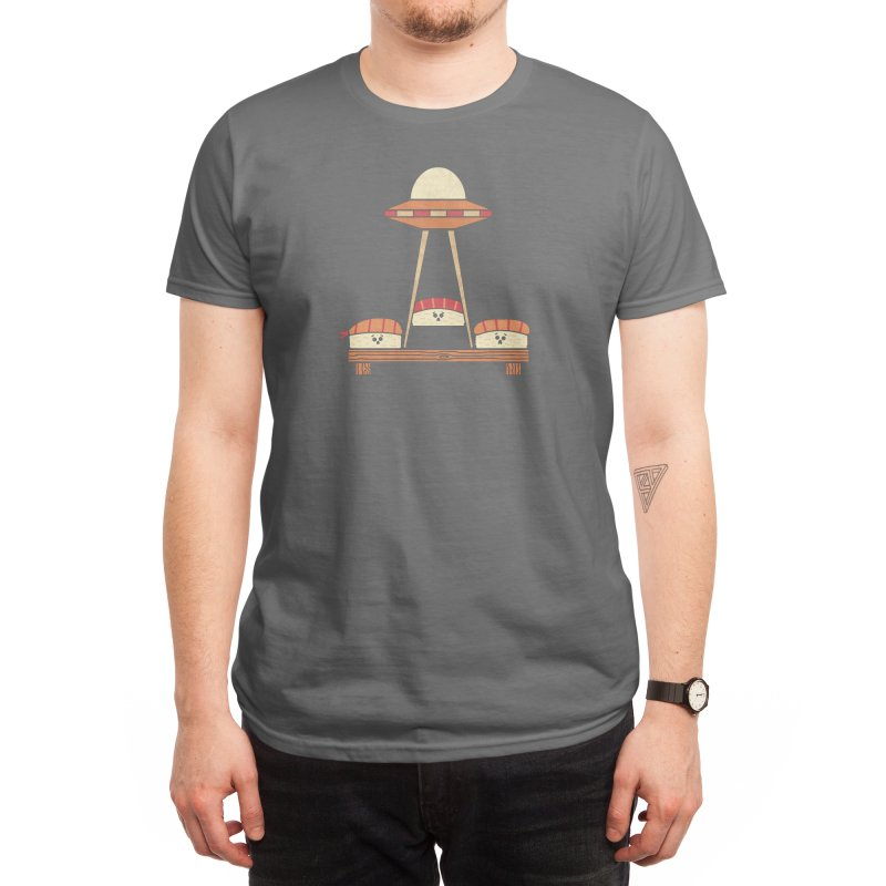 The Abduction Men's T-Shirt by handsoffmydinosaur
