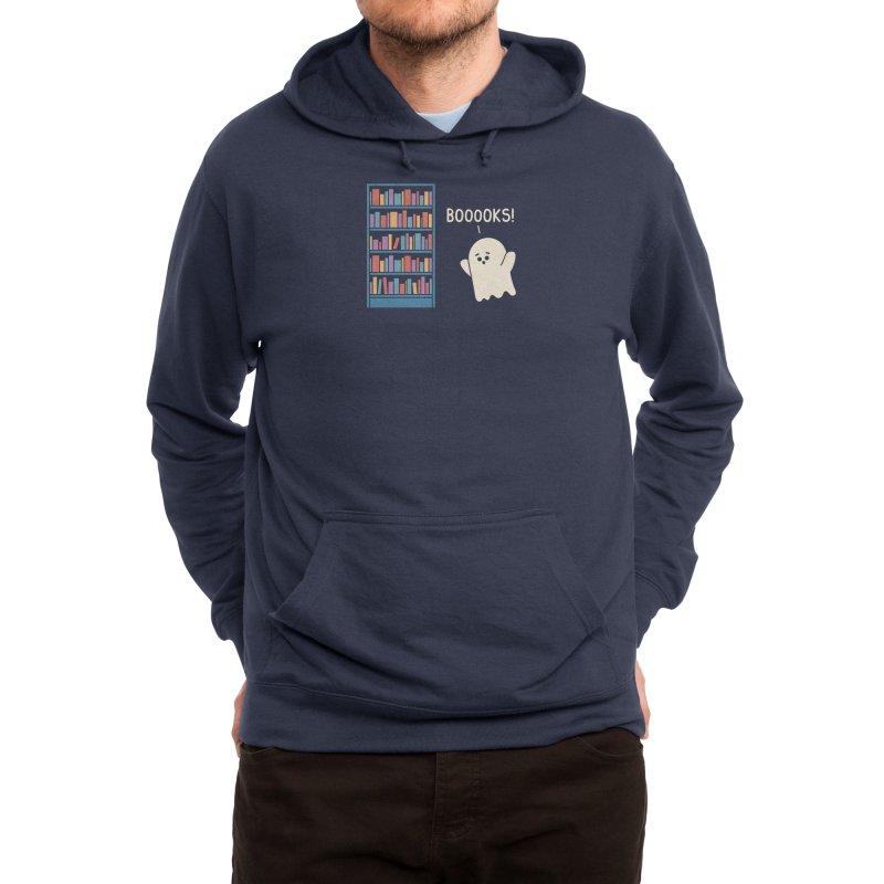 Booook Lover Men's Pullover Hoody by handsoffmydinosaur