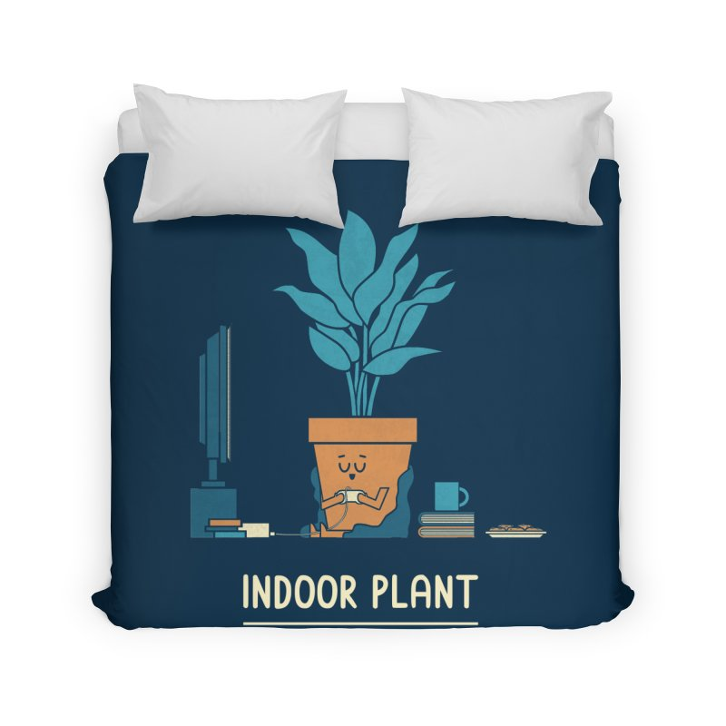 Indoor Plant Home Duvet by handsoffmydinosaur