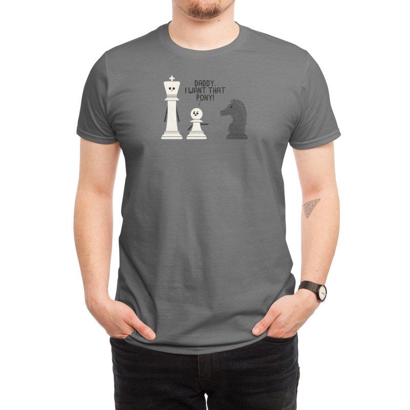 Pony Men's T-Shirt by handsoffmydinosaur