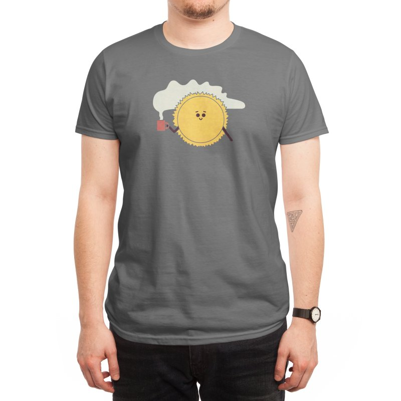 Morning Sun Men's T-Shirt by handsoffmydinosaur