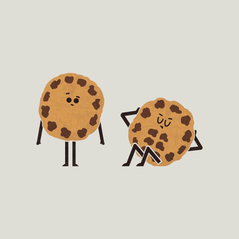 Cookie Abs Men's T-Shirt by handsoffmydinosaur