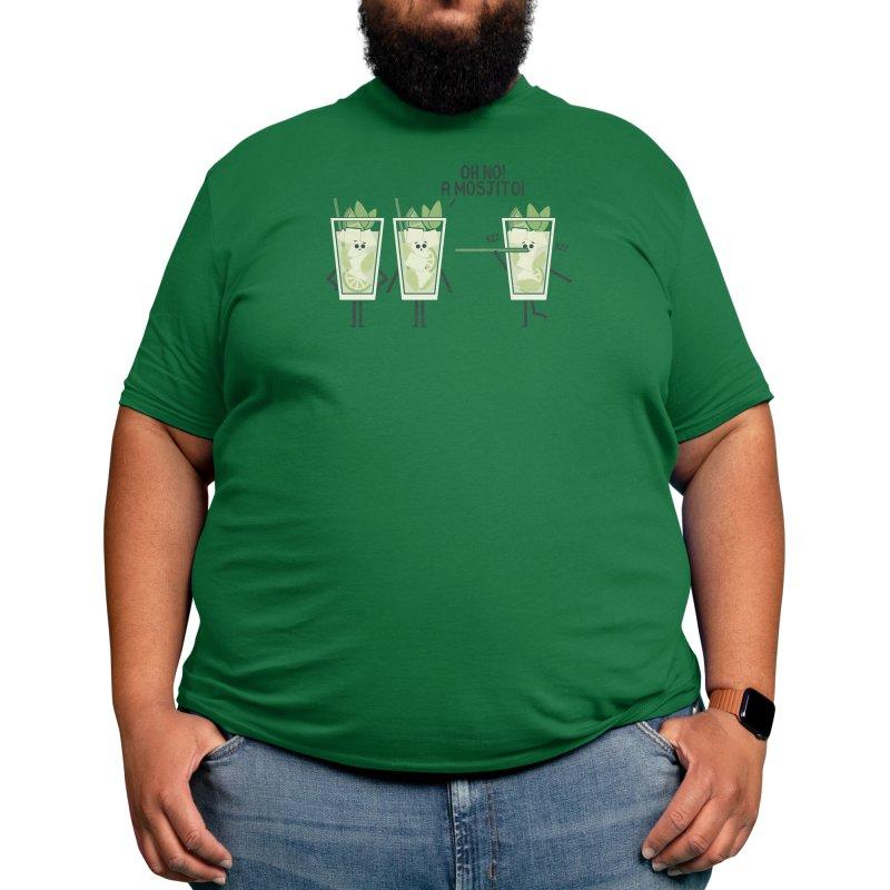 Mosjito Men's T-Shirt by handsoffmydinosaur