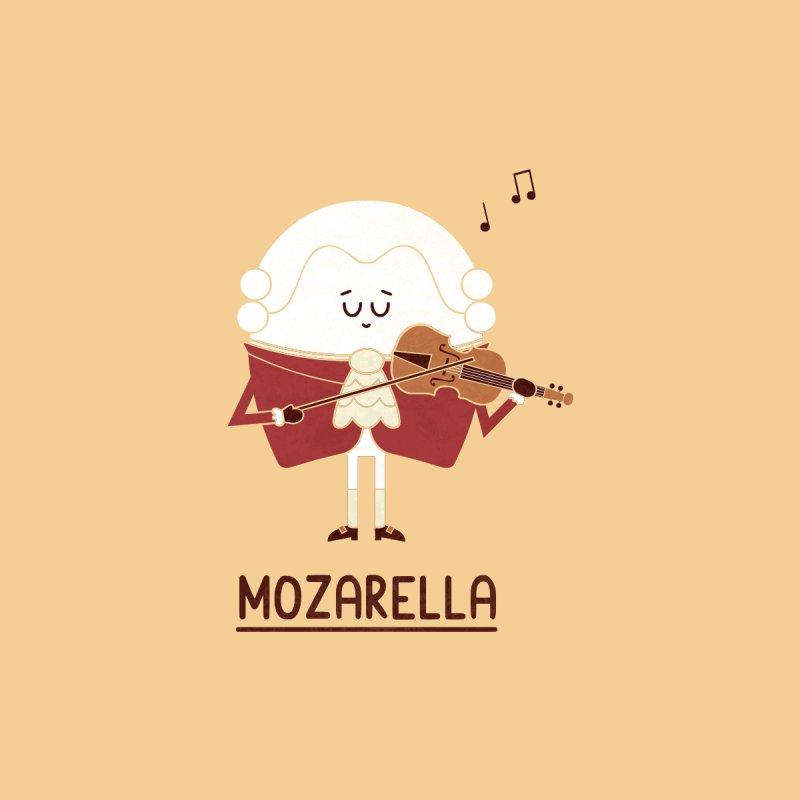 Mozarella Men's T-Shirt by handsoffmydinosaur