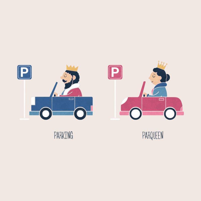 Opposites - Parking Men's Zip-Up Hoody by