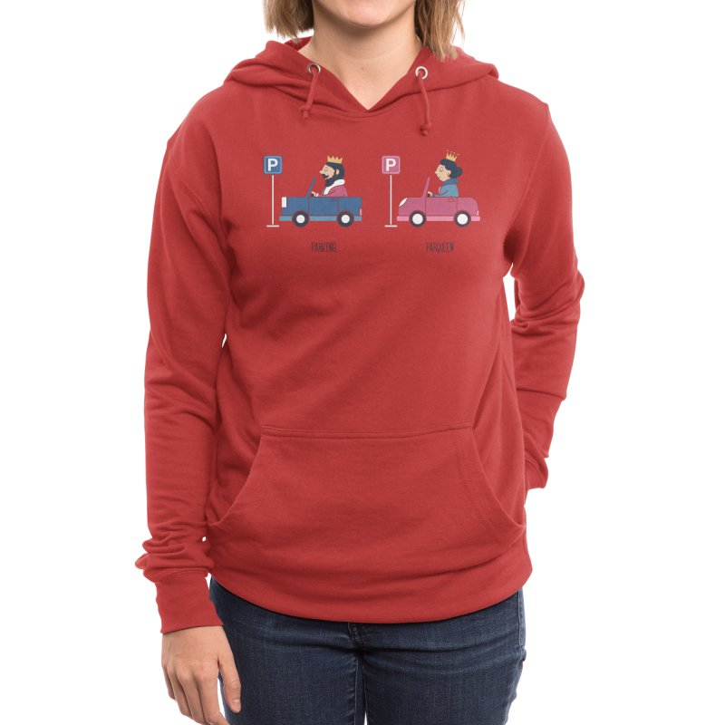 Opposites - Parking Women's Pullover Hoody by