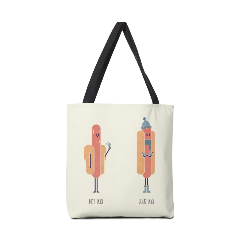 Opposites - Hot Dog Accessories Bag by