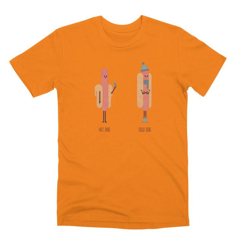 Opposites - Hot Dog Men's T-Shirt by