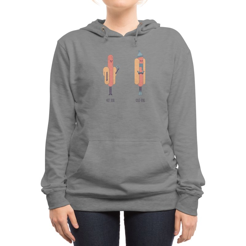 Opposites - Hot Dog Women's Pullover Hoody by