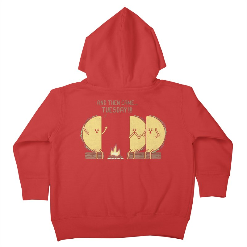 Tuesday Kids Toddler Zip-Up Hoody by