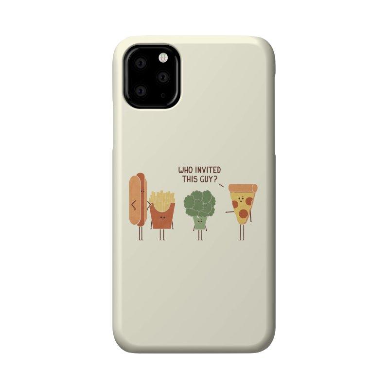 Party Crasher Accessories Phone Case by handsoffmydinosaur