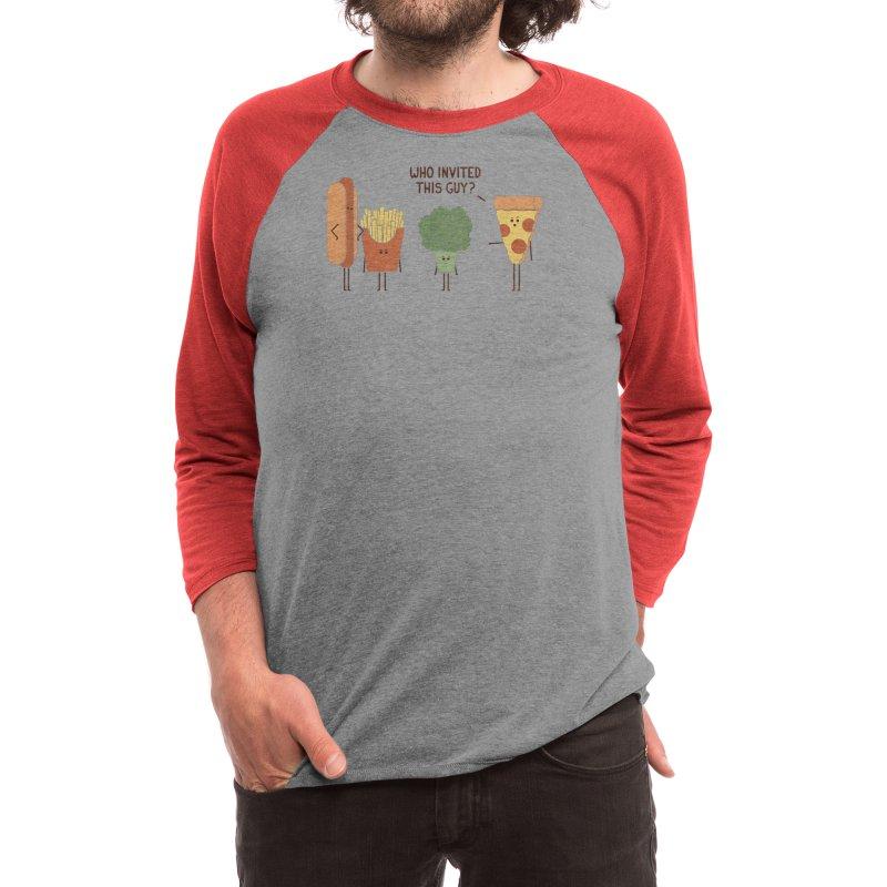 Party Crasher Men's Longsleeve T-Shirt by handsoffmydinosaur