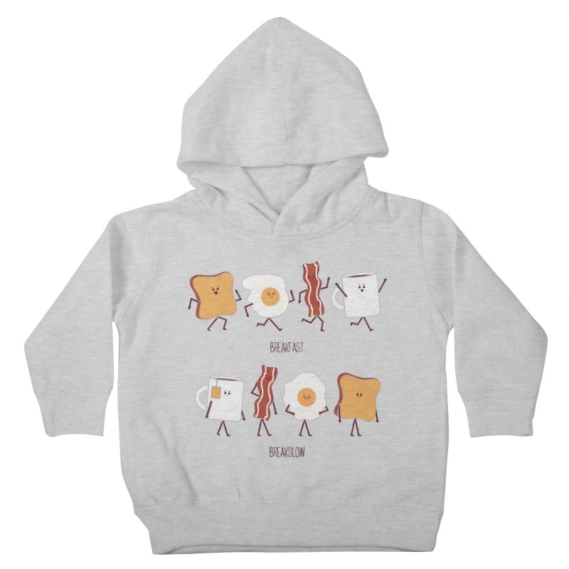 Opposites - Breakfast Kids Toddler Pullover Hoody by
