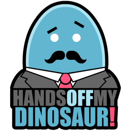 Logo for handsoffmydinosaur