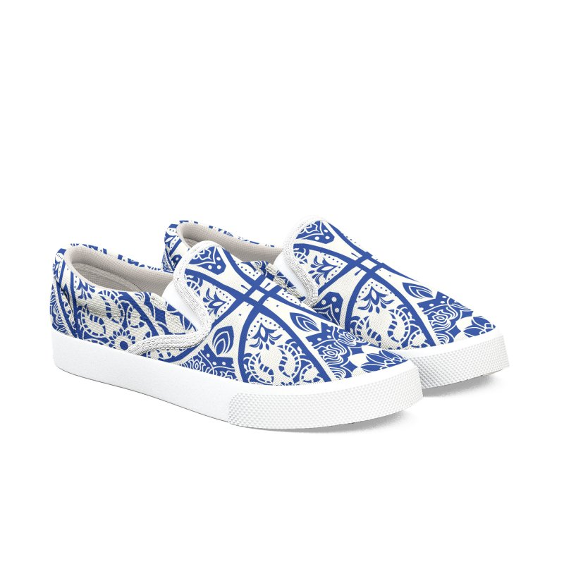 Portuguese Tiles Shoes Men's Shoes by HANGERMAN NYC