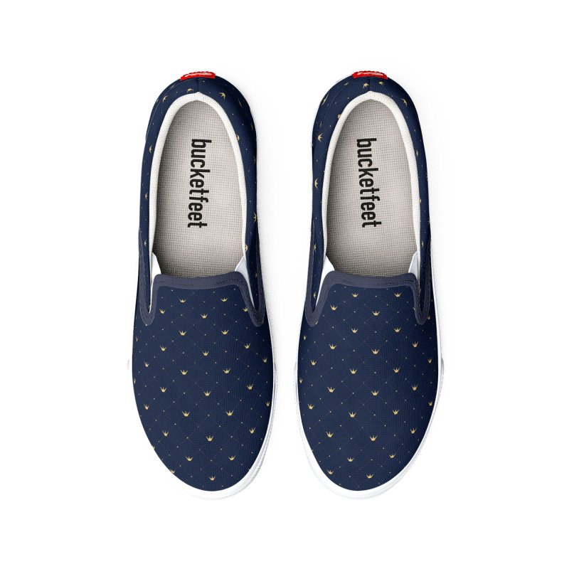 Crown Blue Shoes Men's Shoes by HANGERMAN NYC