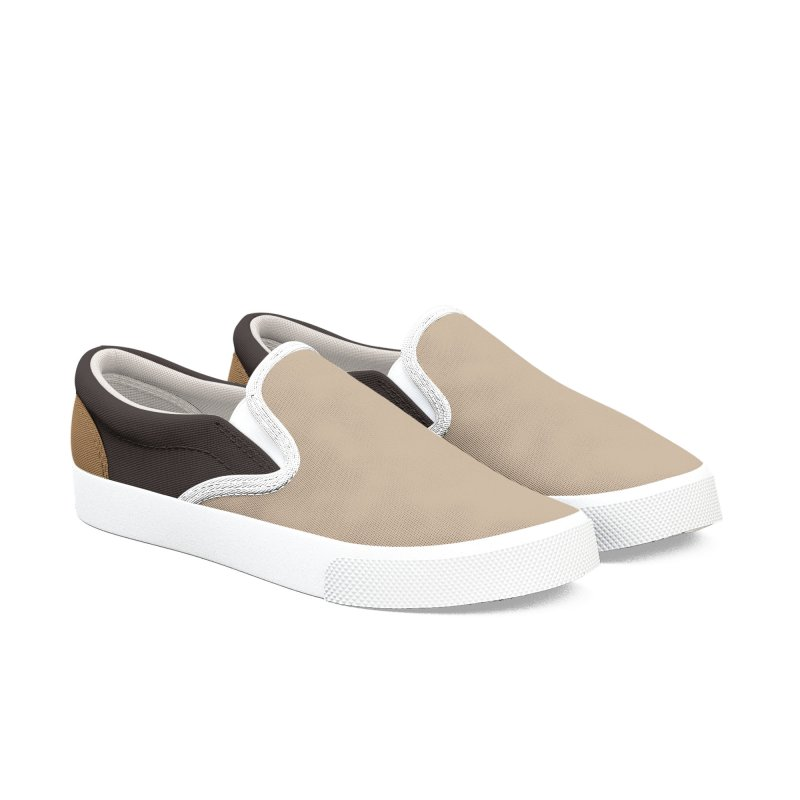 Brownish Men's Slip-On Shoes by HANGERMAN NYC
